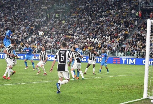Koulibaly, il gol alla Juventus