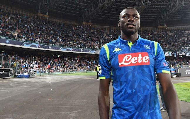 Koulibaly agente Napoli PSG