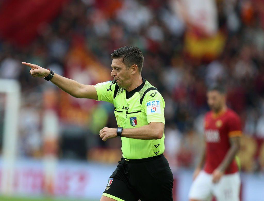 Napoli-Inter, dirige Rocchi