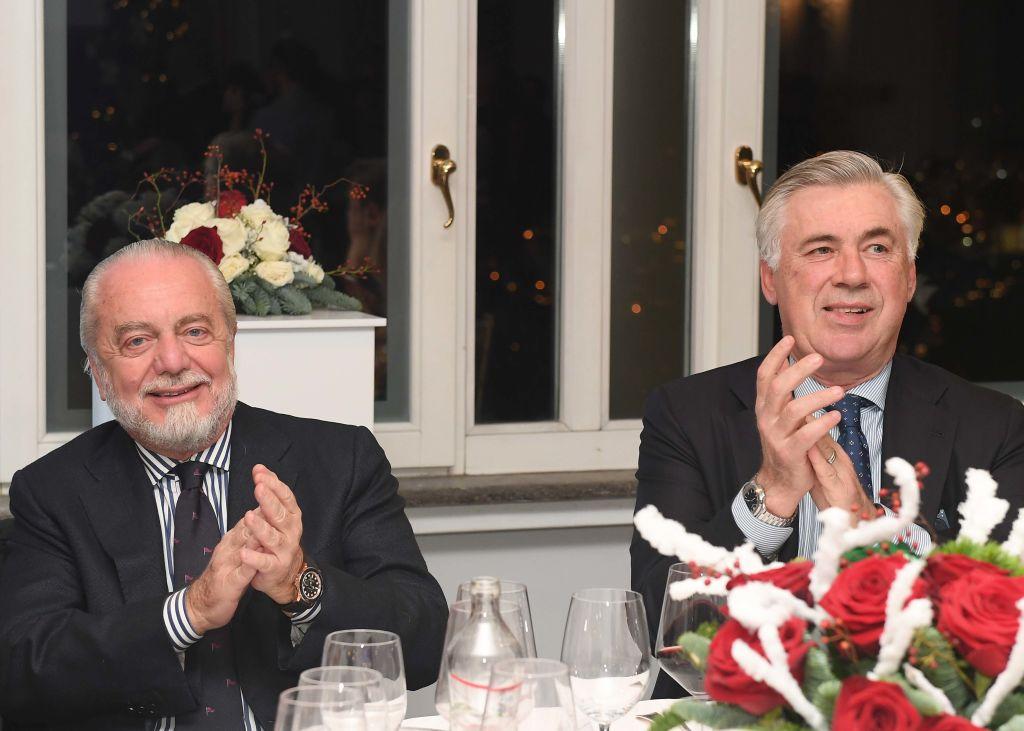De Laurentiis, la scelta Ancelotti