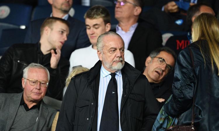 De Laurentiis ripresa Serie A
