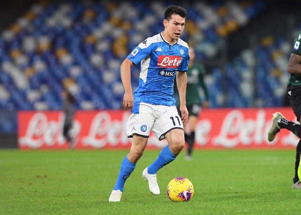 Lozano, il pressing dell'Everton