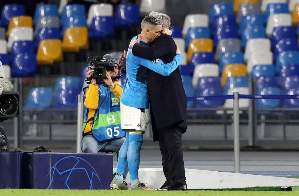 Ancelotti ultimo giorno Napoli