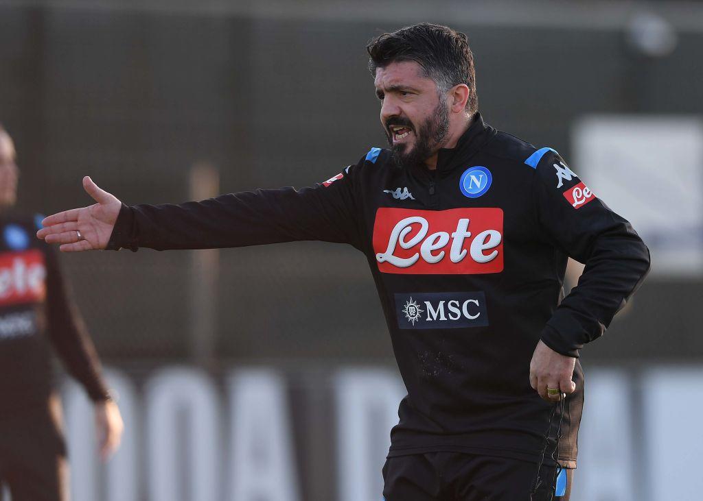Gattuso Napoli Inzaghi