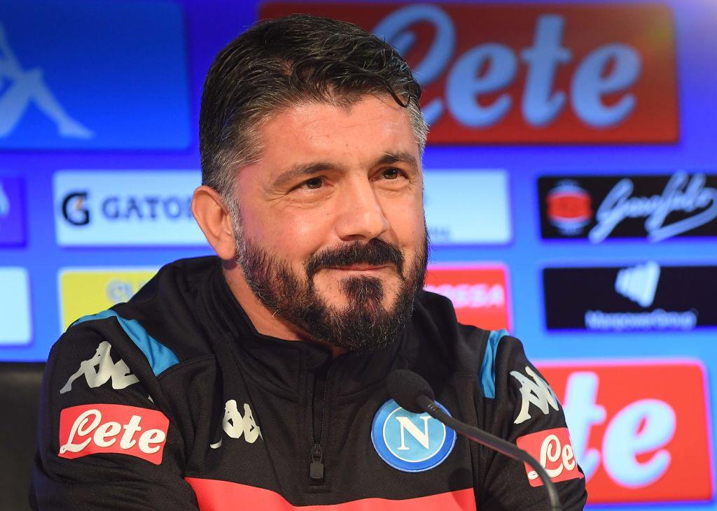Gattuso Barcellona Napoli conferenza