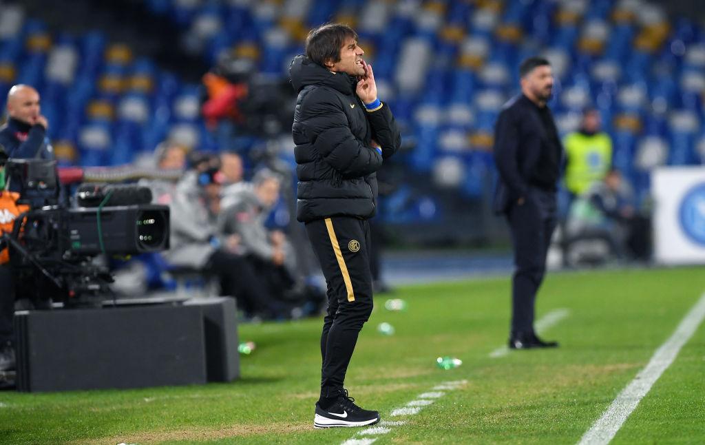 Conte su Napoli-Inter