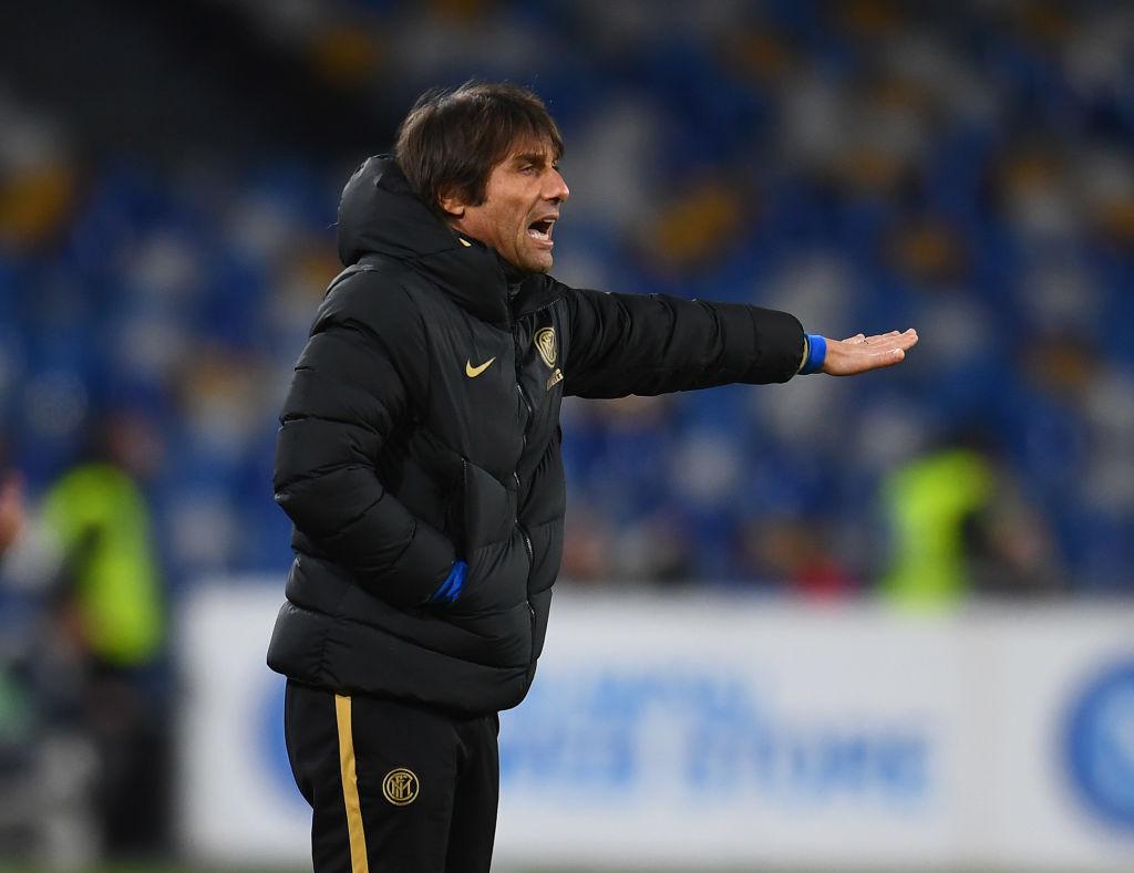 Coppa Italia Napoli Inter Conte