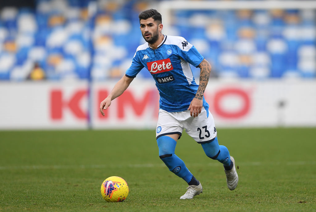 hysaj out contro l'Inter in Coppa Italia