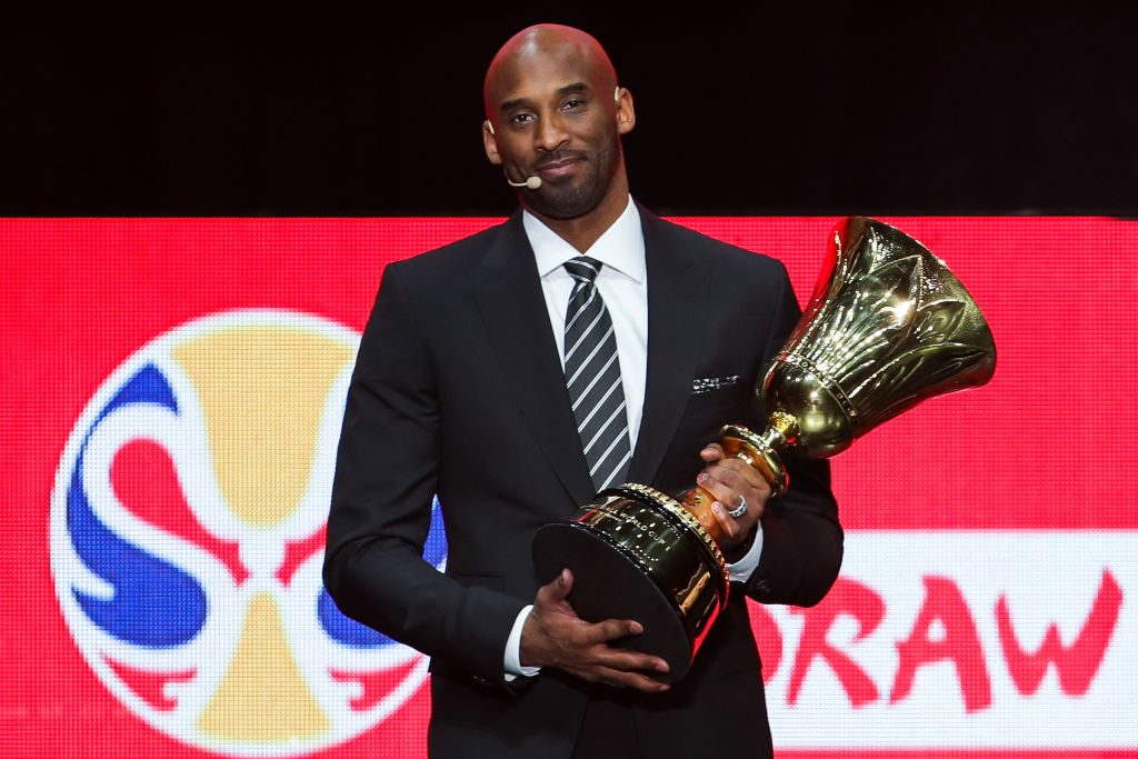 Kobe Bryant, il messaggio del Napoli