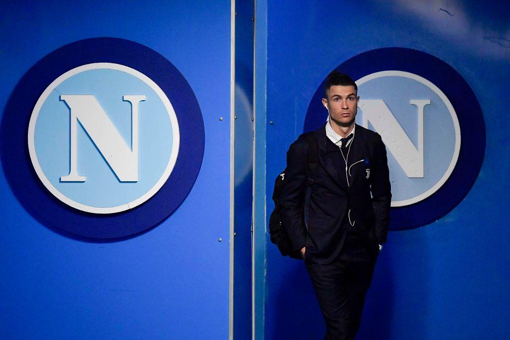Napoli Juventus, sotto accusa il look di Ronaldo