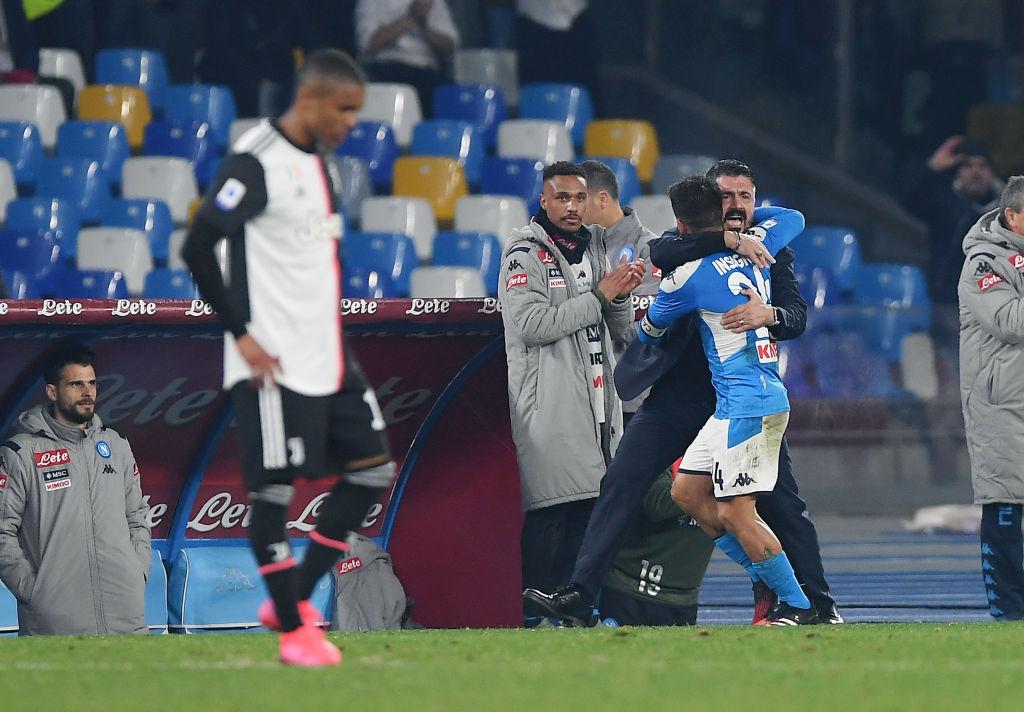 Gattuso scaramanzia Napoli