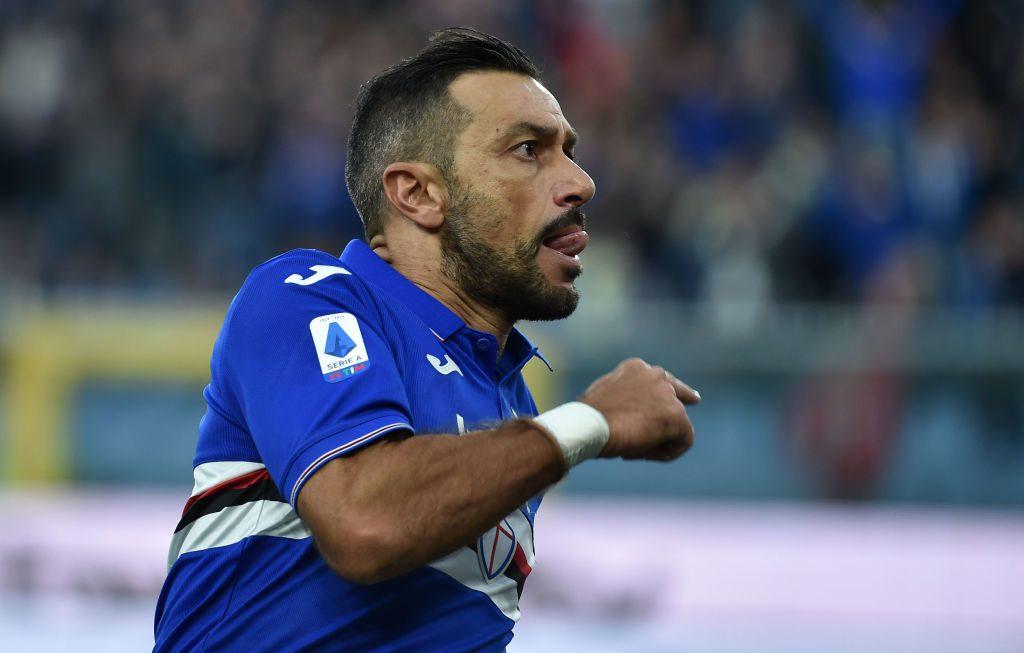Sampdoria Napoli QUagliarella