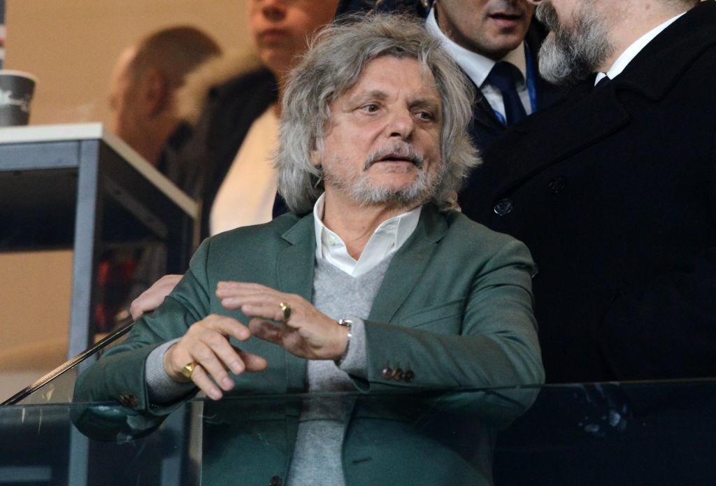 Ferrero su Juve Sampdoria