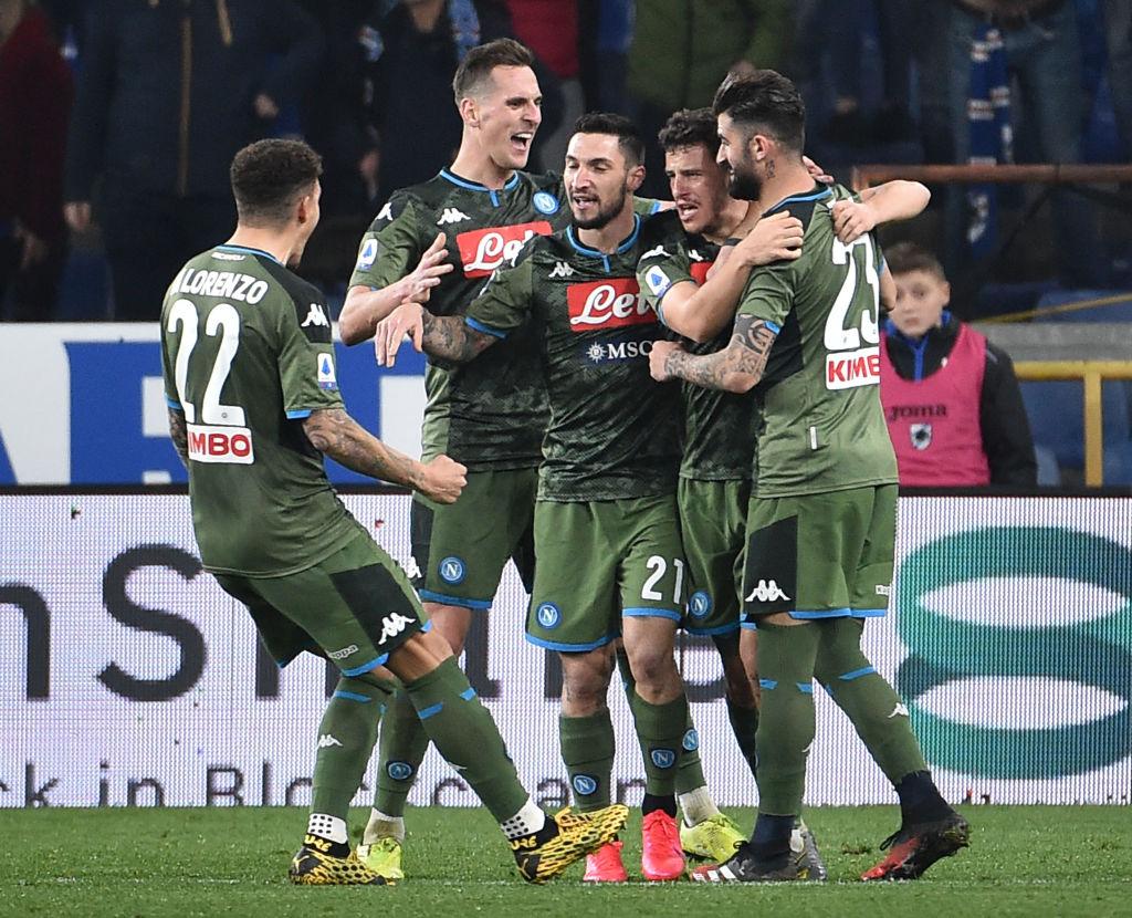 Napoli Lecce, i tifosi tornano al San Paolo