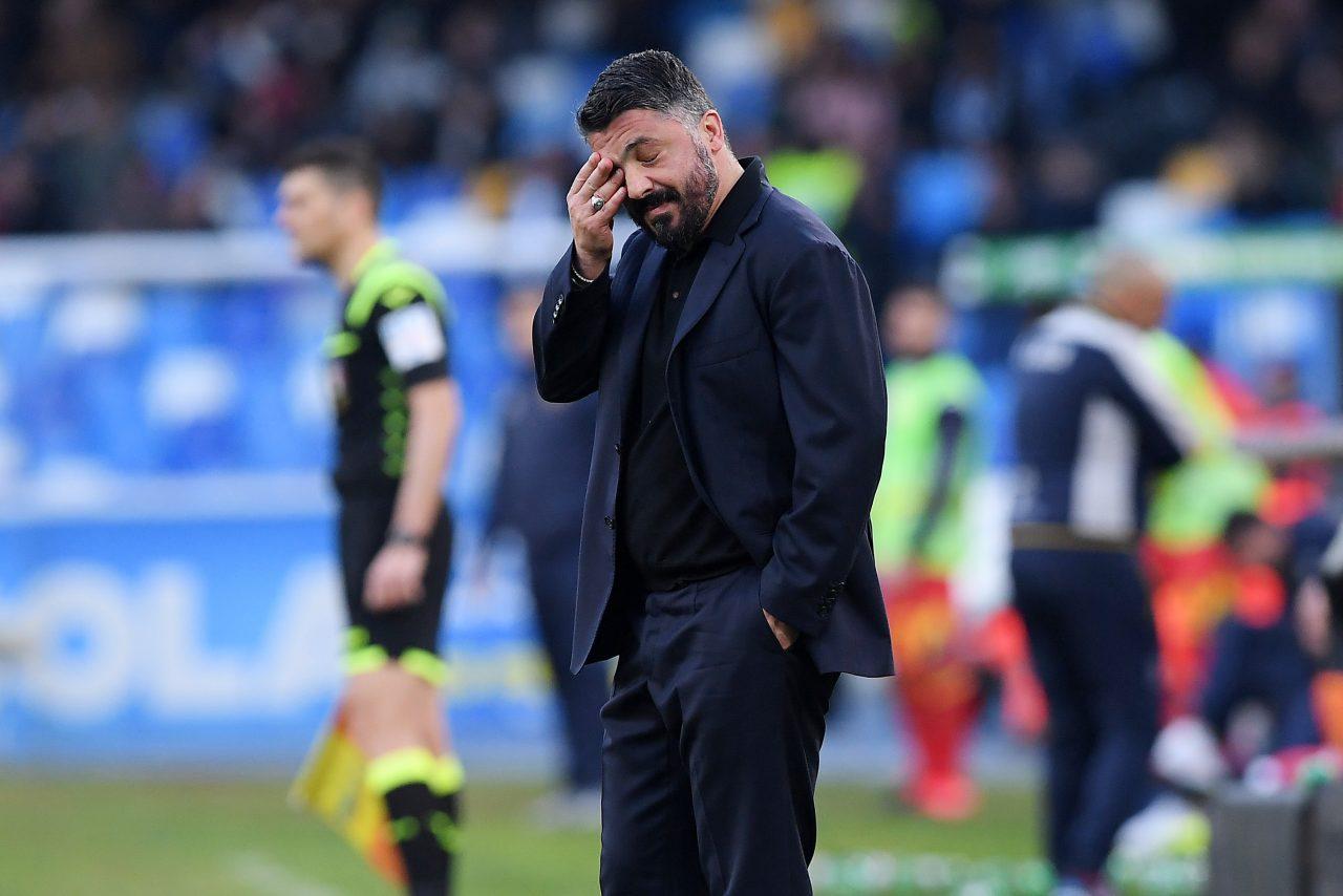 Gattuso preoccupato