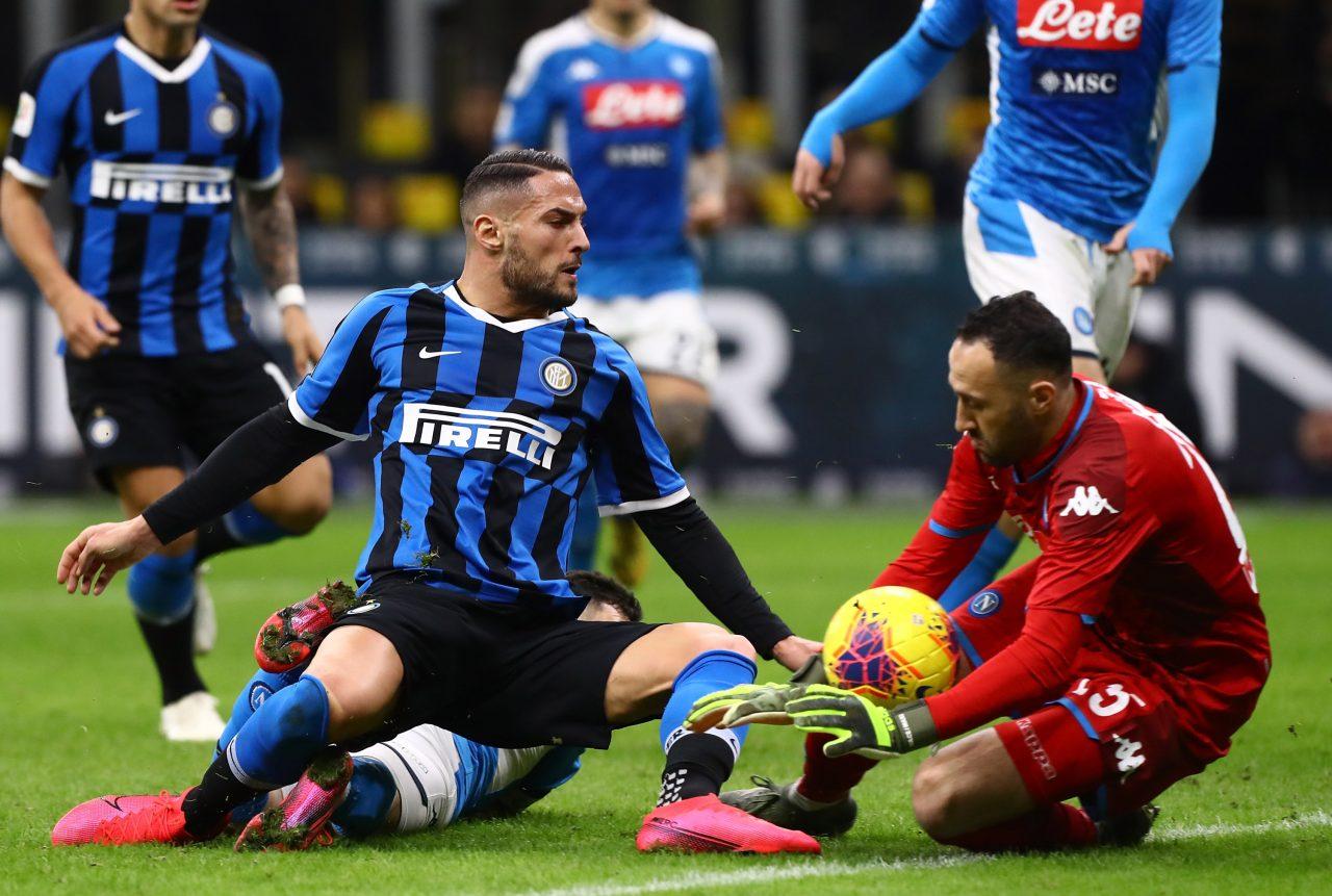 Napoli-Inter, il ritiro