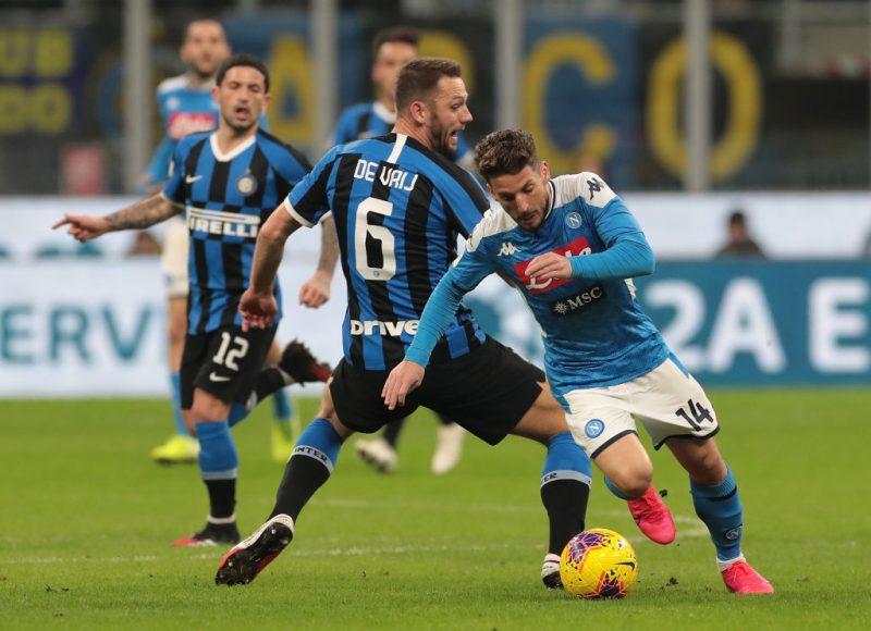 Mertens Inter Napoli
