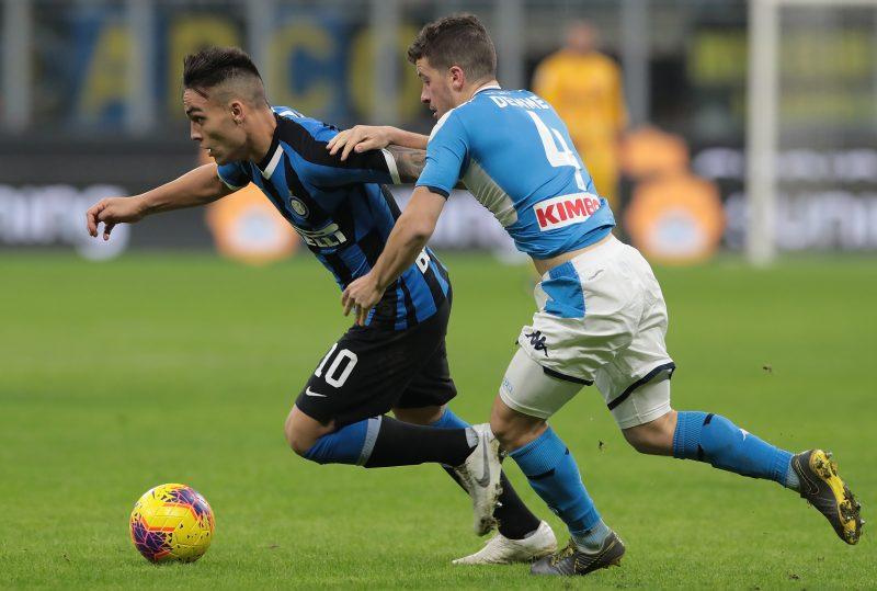 Napoli Inter, le probabili formazioni