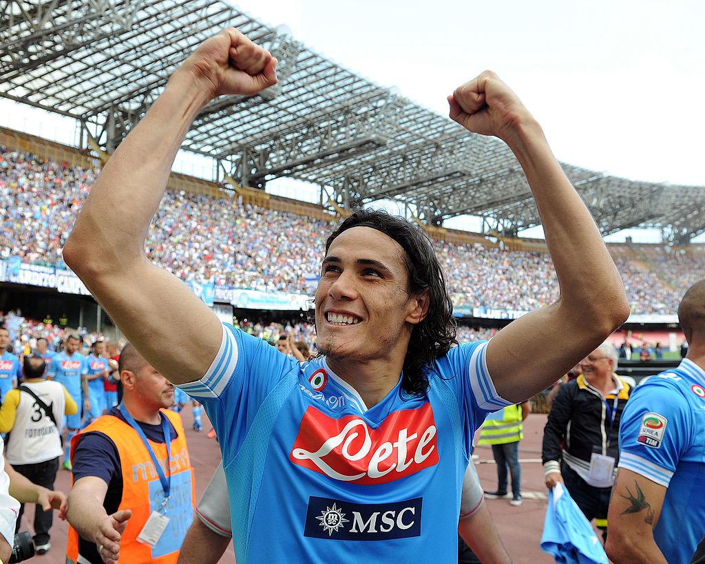 Accadde Oggi Cavani Segna L Ultimo Gol Con La Maglia Napoli Video