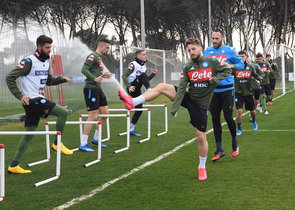 Allenamenti ripresa Serie A