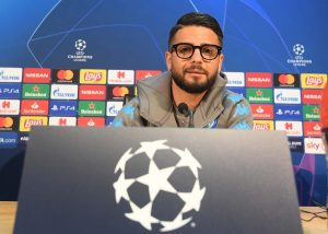 Insigne, le parole in conferenza