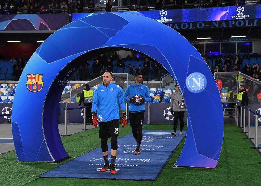 Champions Napoli Barcellona