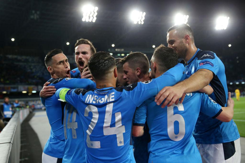 Barcellona Napoli Champions