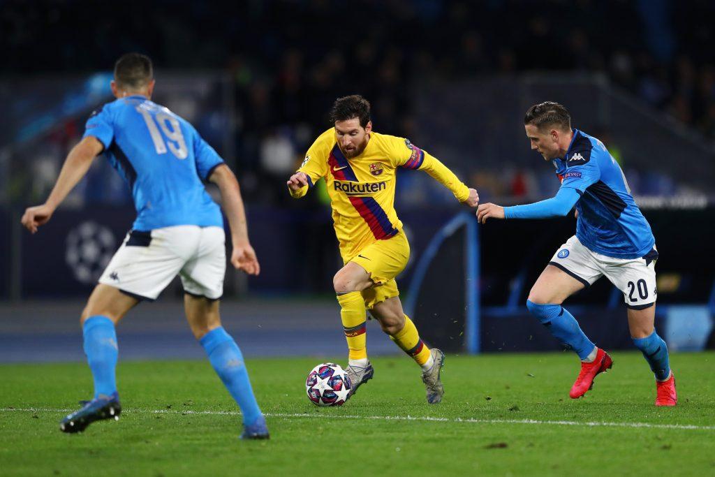 Barcellona Napoli arbitro Cakir