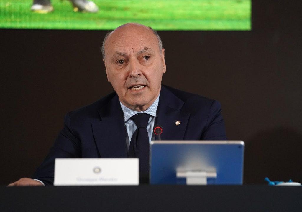 Marotta sul rinvio di Juve-Inter