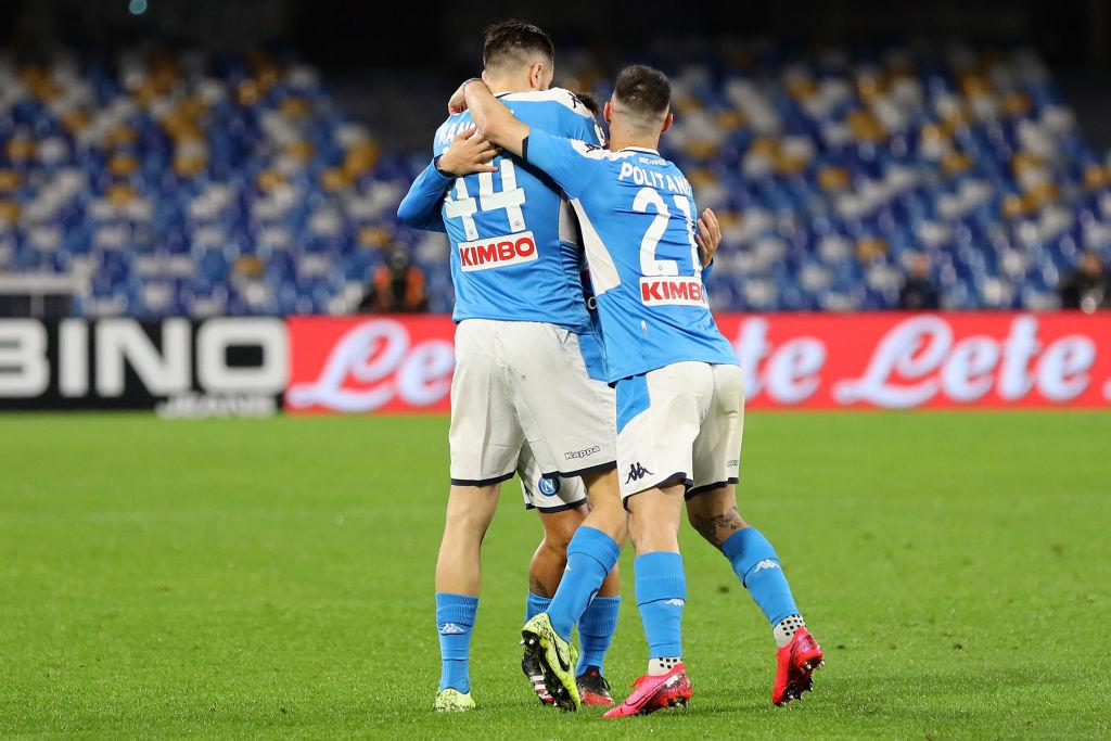 Napoli Torino, i dati Opta