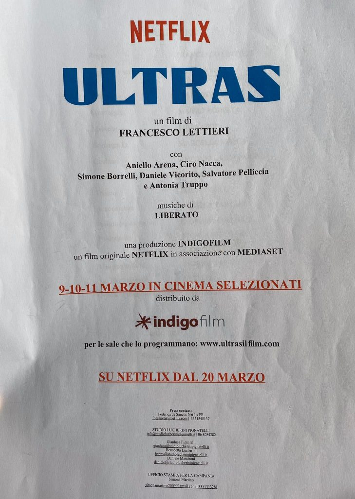 Ultras il film