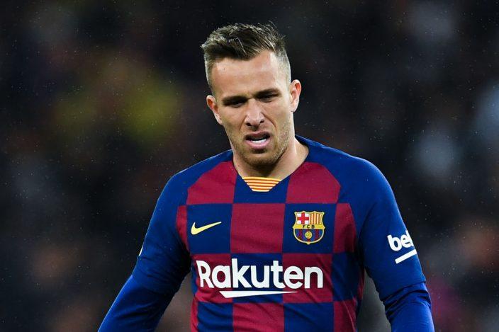 Arthur infortunio caviglia Barcellona