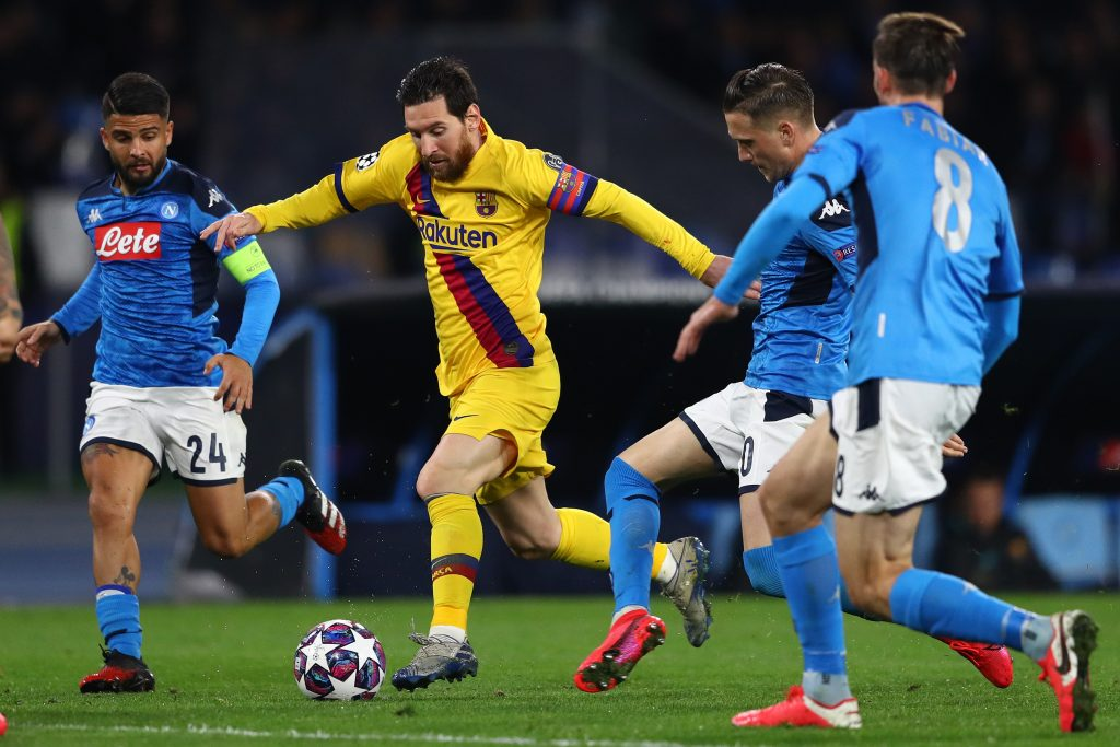 Napoli Barcellona Osasuna