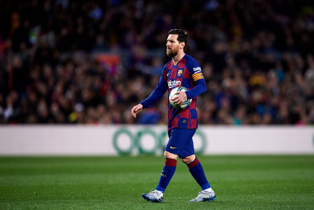 Messi Barcellona taglio