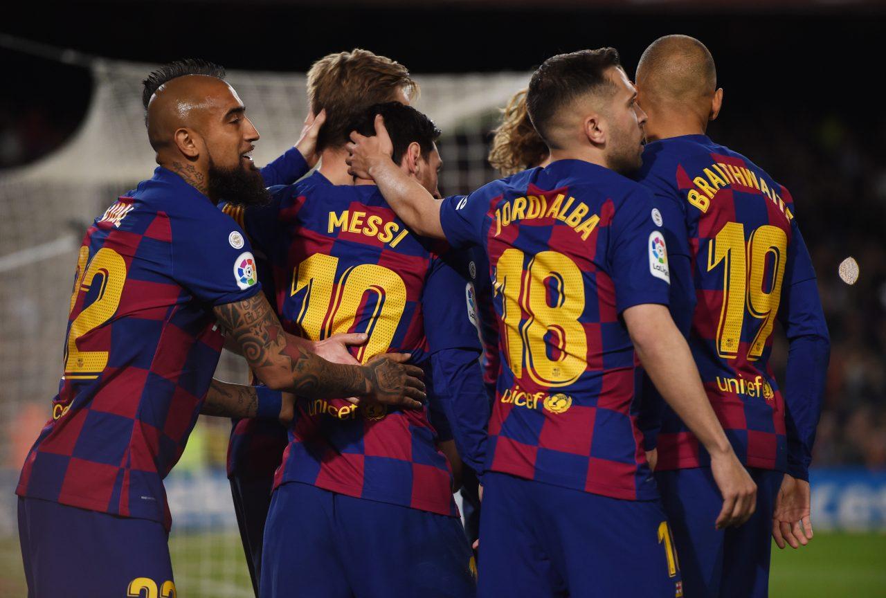 Liga Barcellona tifosi stadio