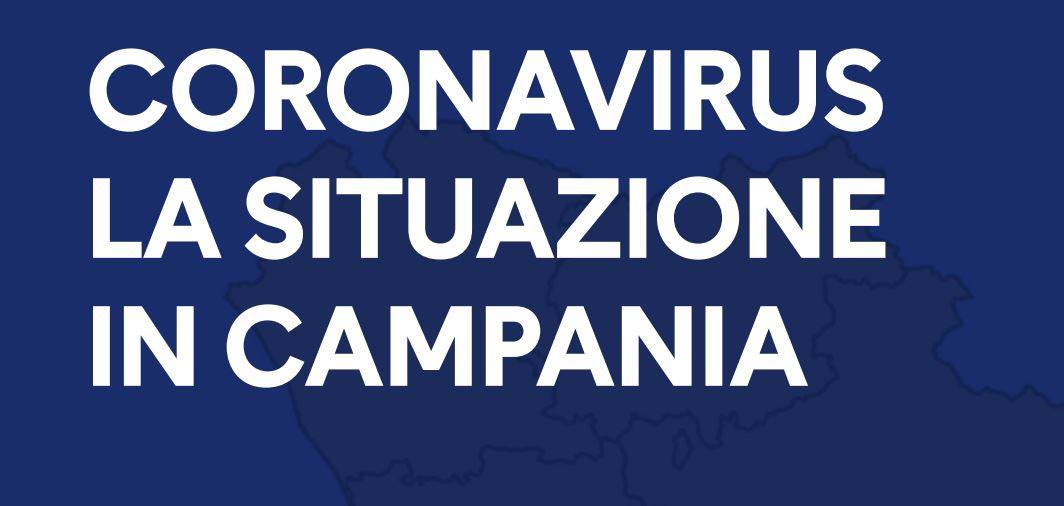 Coronavirus bollettino Campania