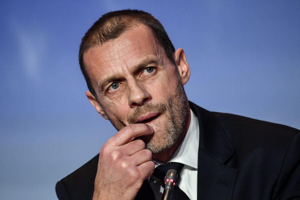Ceferin, le decisioni della Uefa