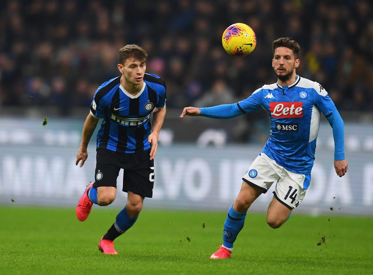 Mertens Inter, la chiamata di Conte