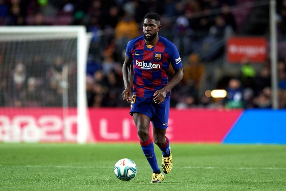 Umtiti, l'infortunio