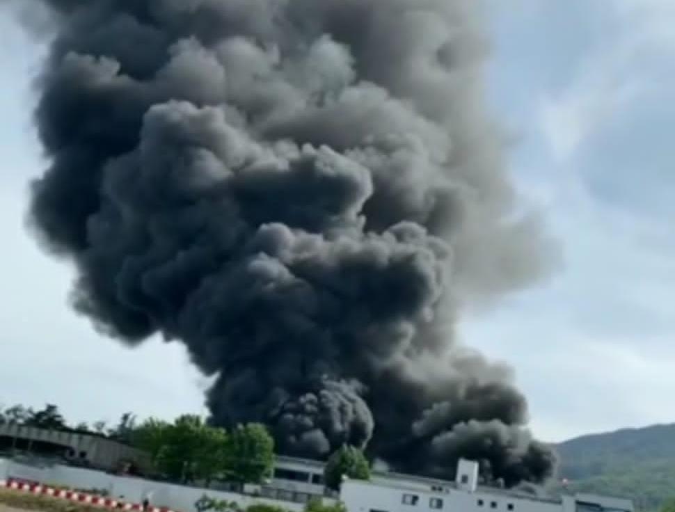 Esplosione fabbrica Ottaviano