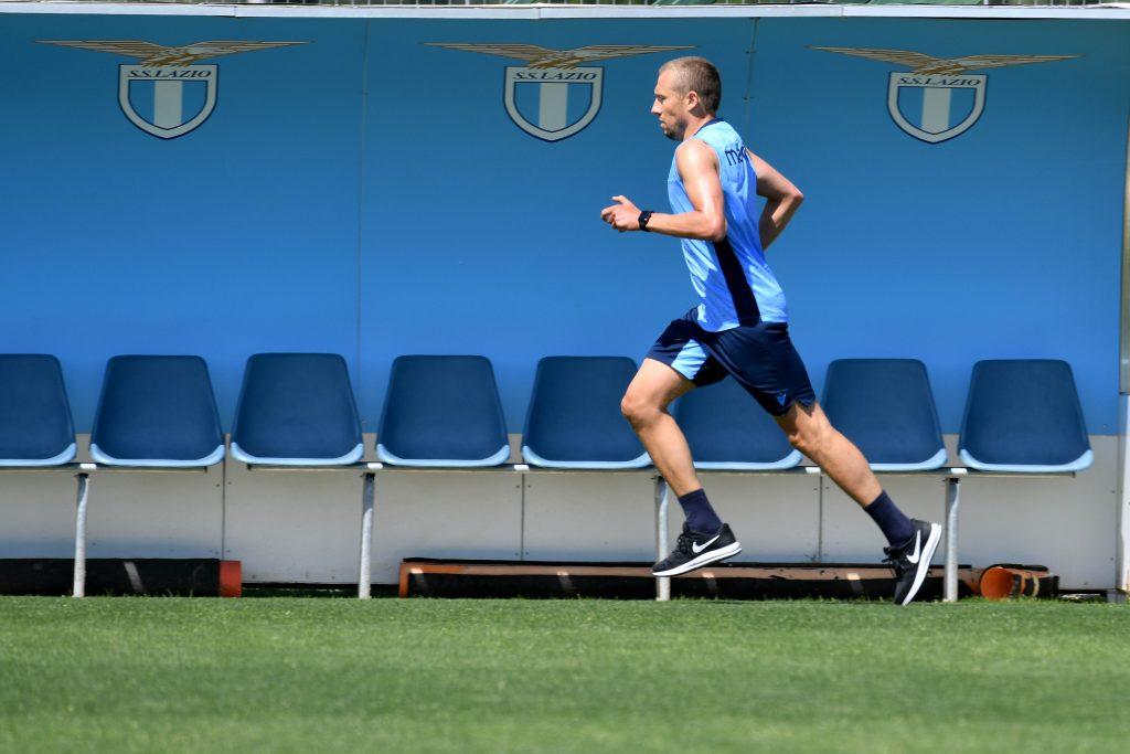 Lazio in allenamento