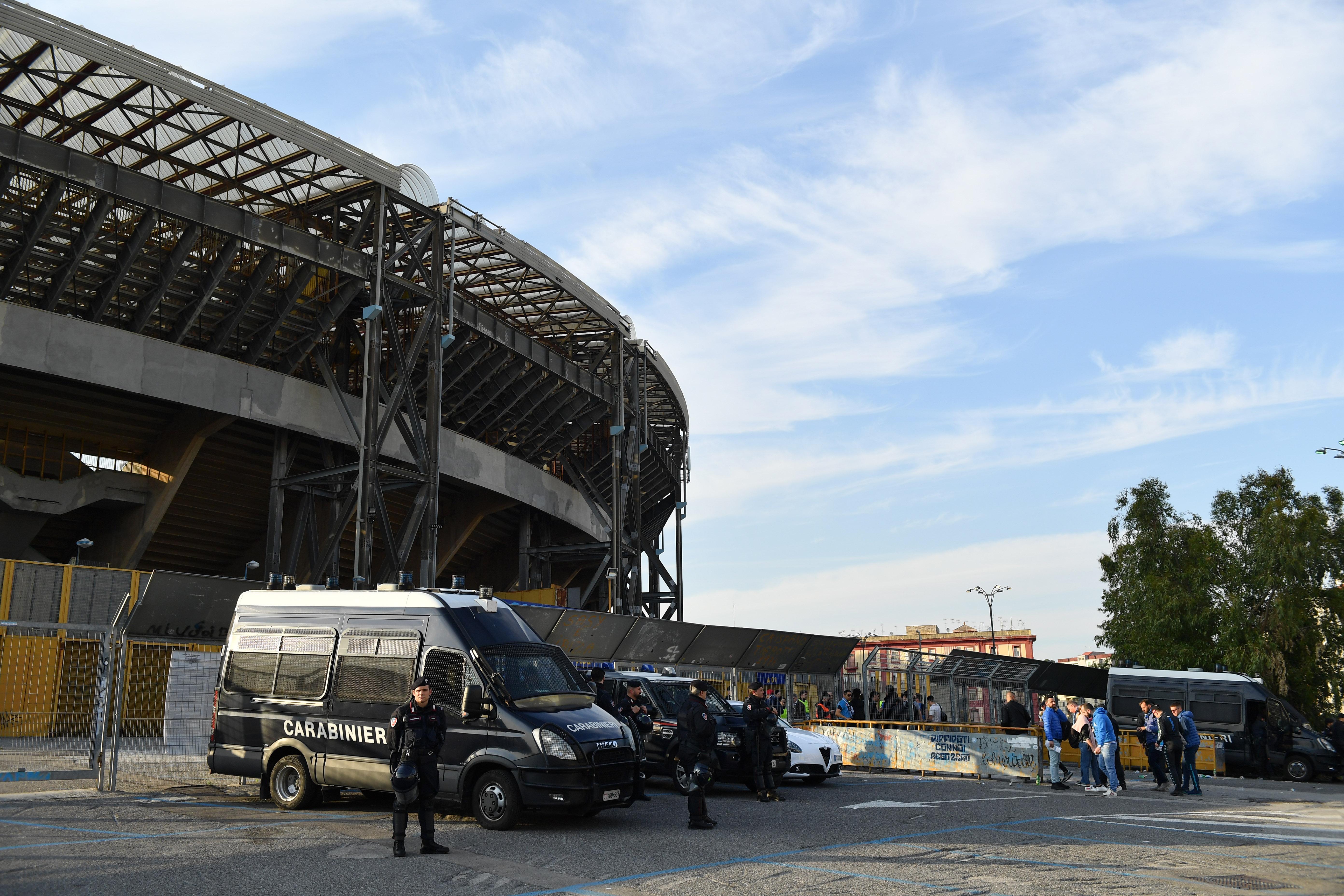 Napoli-Inter, le ultime dal San Paolo