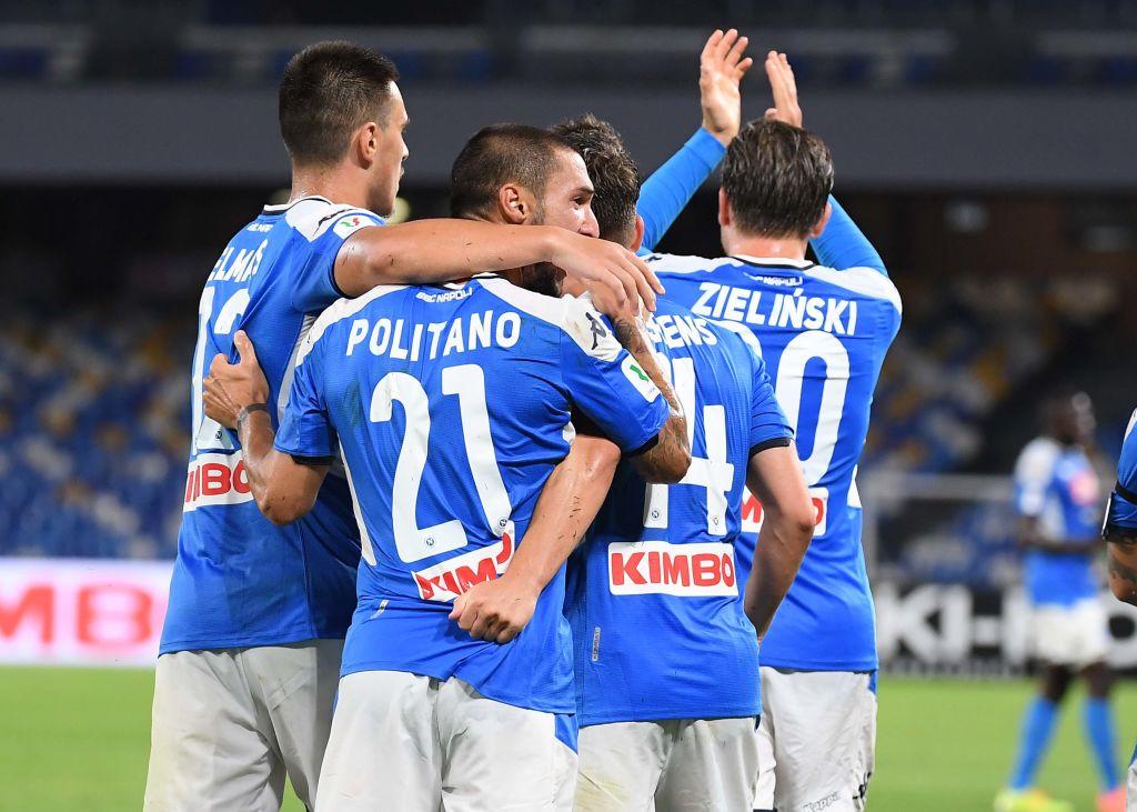 Napoli-Inter, il protocollo
