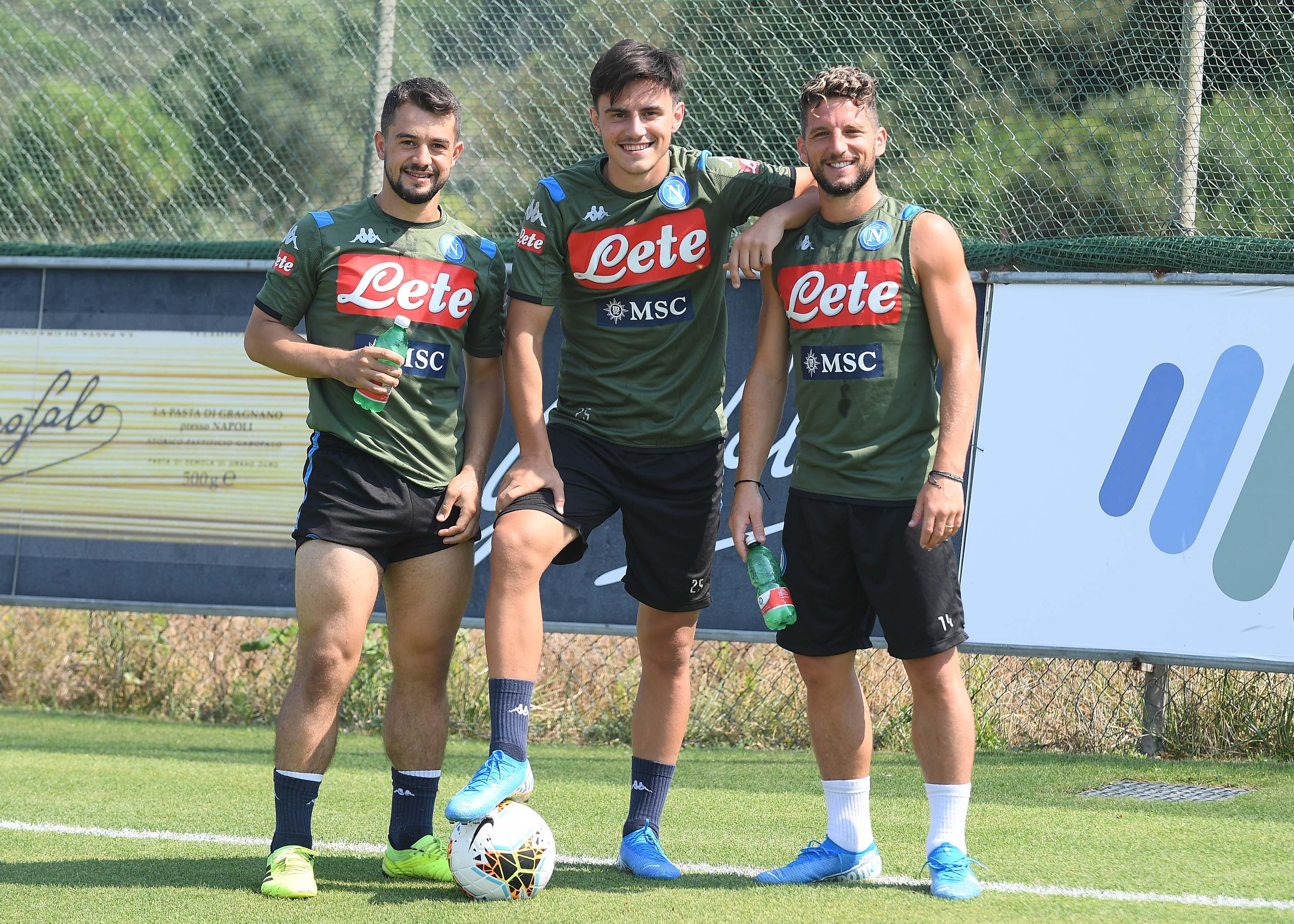 Napoli, il report dell'allenamento