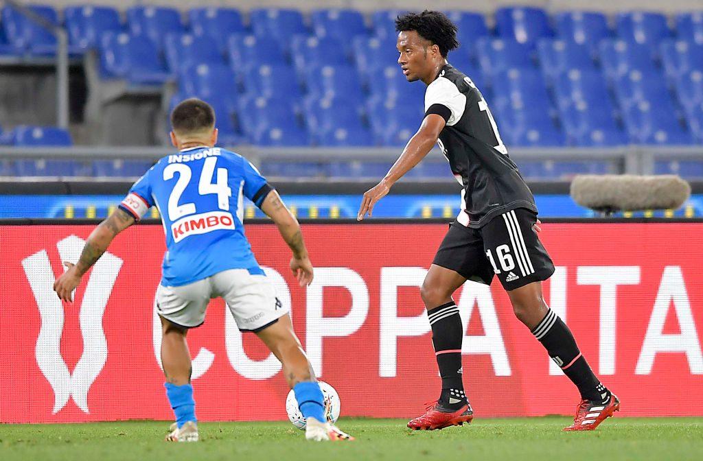 Cuadrado ilik Juventus Napoli