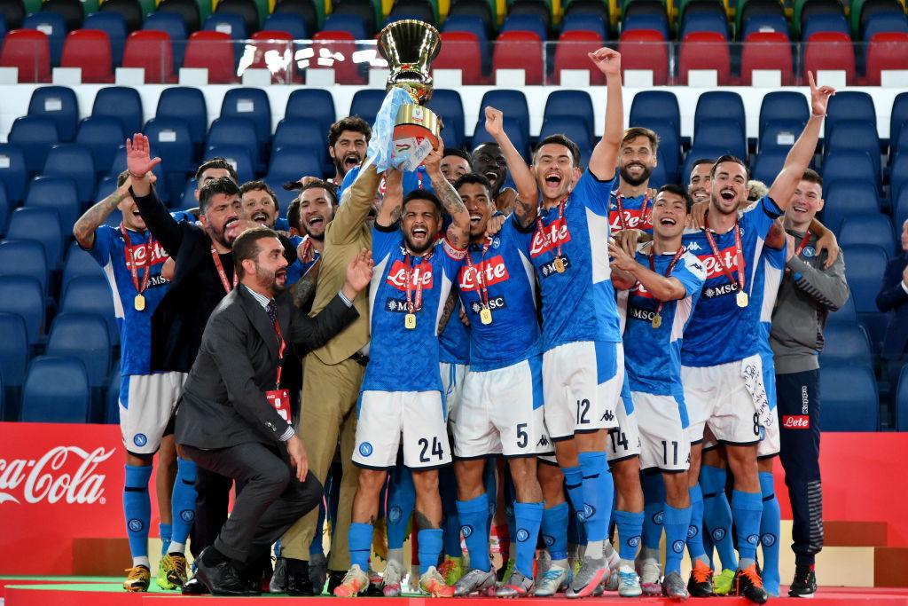 Napoli, il patto Champions