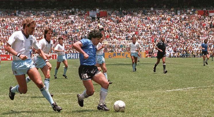 Maradona Inghilterra