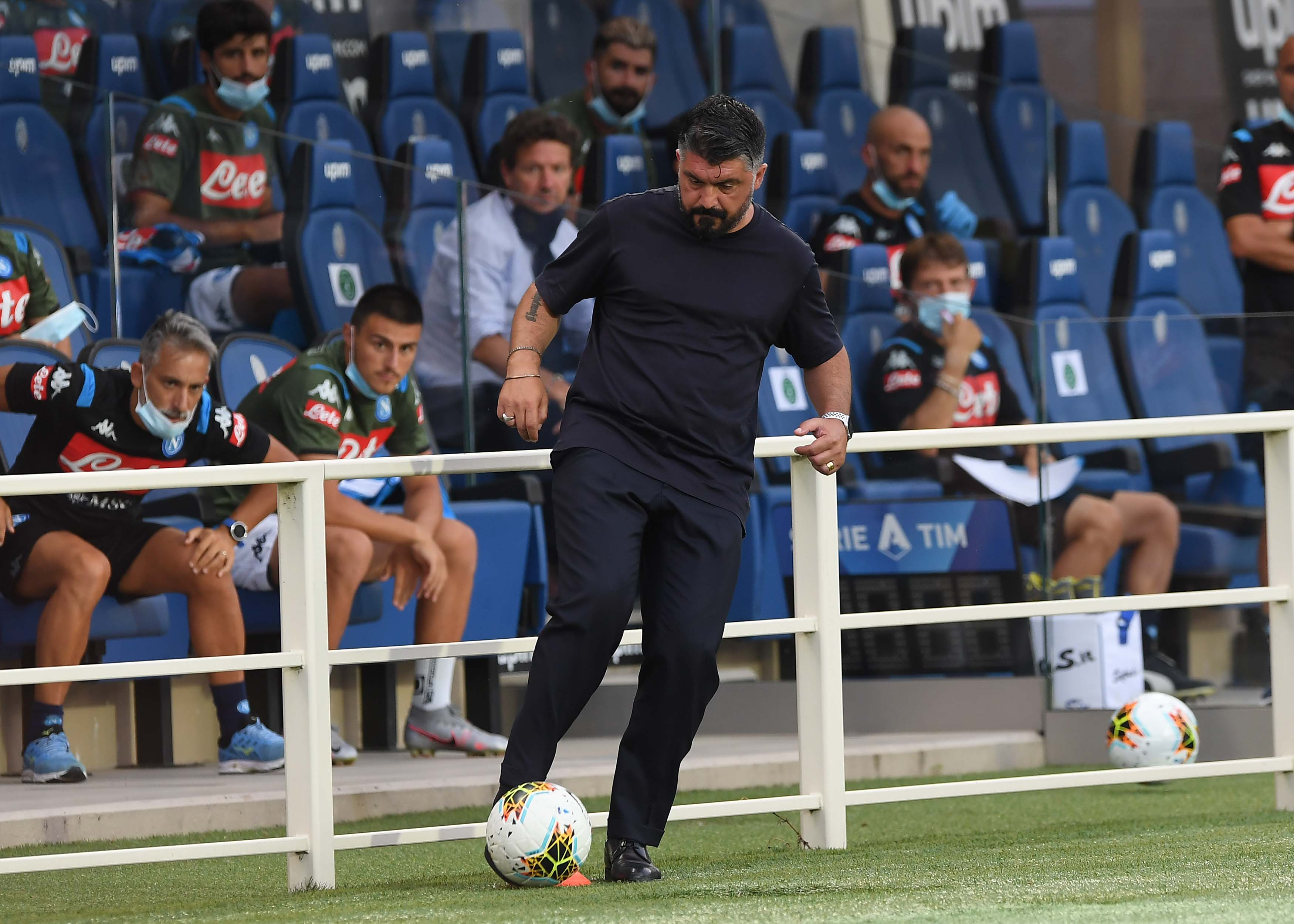 atalanta napoli Gattuso