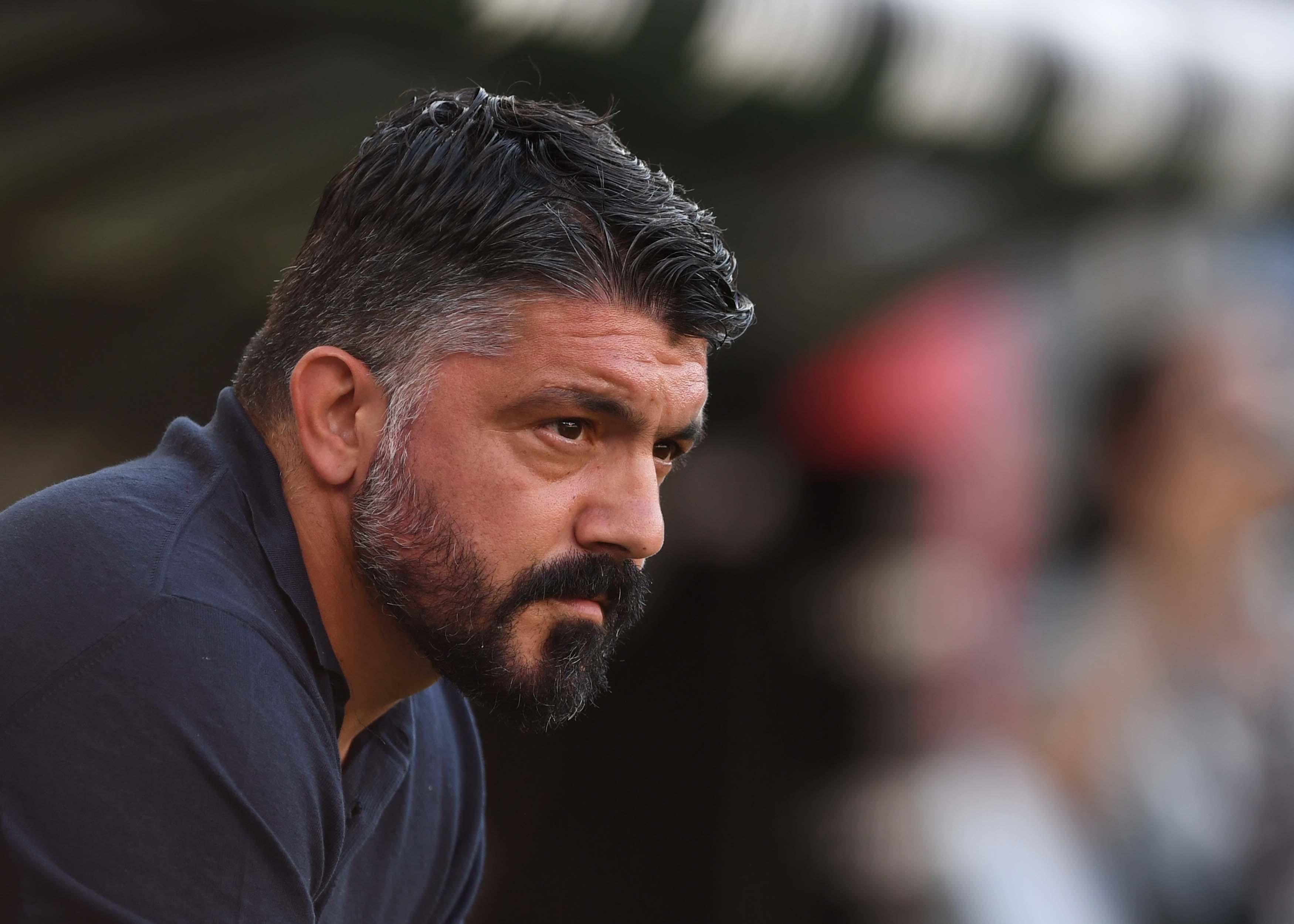 Gattuso, il monito al Napoli