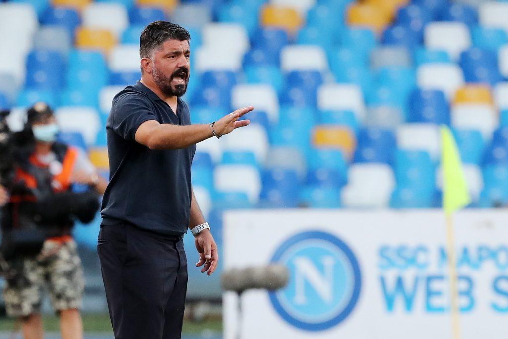 Napoli Lazio Gattuso